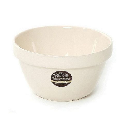 Mason Cash White Pudding Basin Bowl 14cm Size 42